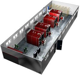 Блочно-модульная котельная 3