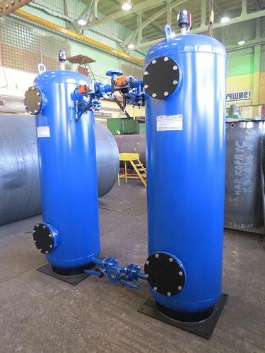 Фильтры обезжелезивания воды из стали