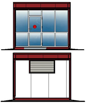 Модульное здание 1