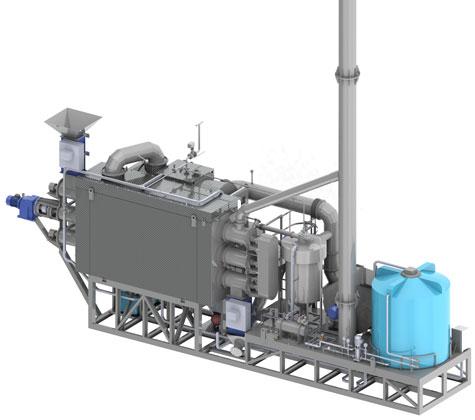 Агрегат пиролиза шин 2