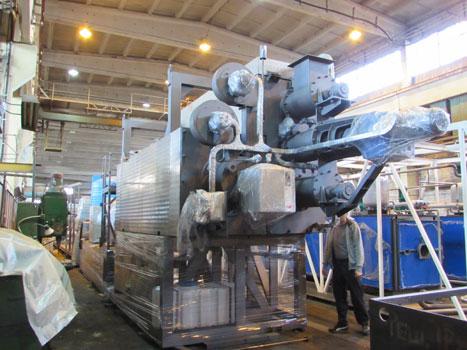 Агрегат пиролиза шин 4