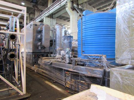 Агрегат пиролиза шин 5