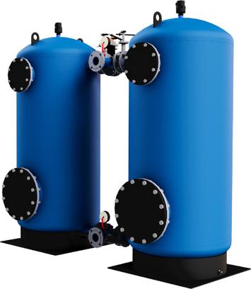 Фильтр обезжелезивания воды из стали