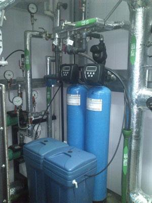 Пример установки умягчения воды из пластика 3
