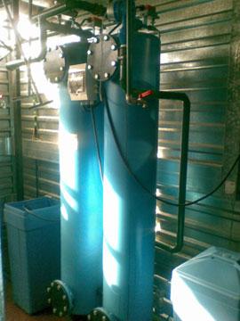Установки умягчения воды УНК с корпусами из стали 1